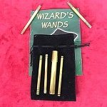 SOLD Brass Wizard's Wands *PREOWNED*