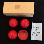 OSR Red Wood Multiplying Balls - PREOWNED