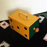 OS Yellow SeeThru Compact Drawer Box - SAMPLE
