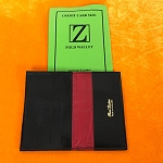 *CLOSEOUT* Credit Card Size Z-Fold Wallet