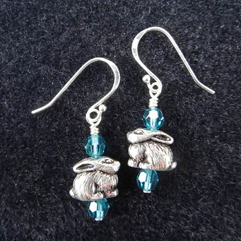 OSR Crystal Bunny Earrings