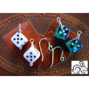 DISCONTINUED Large Dice Earrings