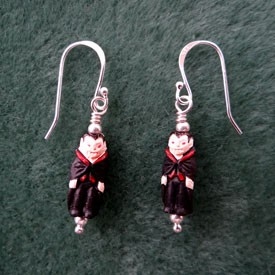 86 DISCONTINUED Dracula Earrings