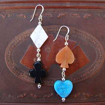 Card Pips Earrings