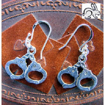 OSR Handcuffs Earrings