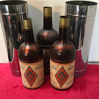 Vintage Abbotts Comedy Passe Bottles *PREOWNED*