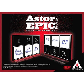 Astor Epic Perfected with DVD + BONUS VIDEO