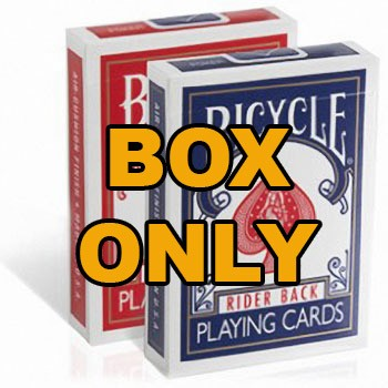 Bicycle Card Box - Empty