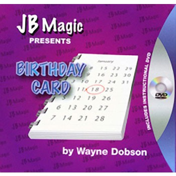 DISCONTINUED Birthday Card Trick