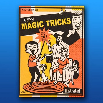 BOOKLET- Adams Easy Magic Tricks