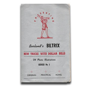SOLD Berland's BilTrix (Berland) - USED BOOK