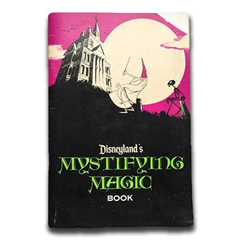 SOLD Disneyland's Mystifying Magic Book - USED BOOK