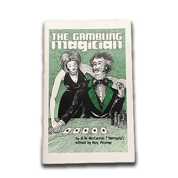SOLD The Gambling Magician (McCarron) - USED BOOK