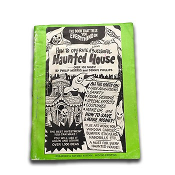 SOLD How To Operate a Successful Haunted House (Morris and Phillips) - USED BOOK