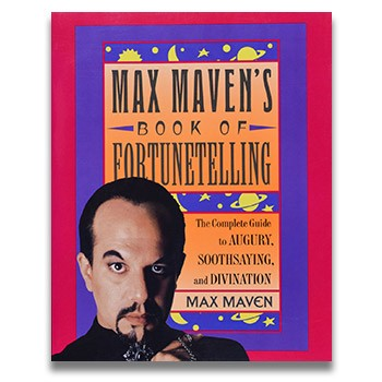 SOLD Max Maven's Book Of Fortunetelling (Maven) - USED BOOK
