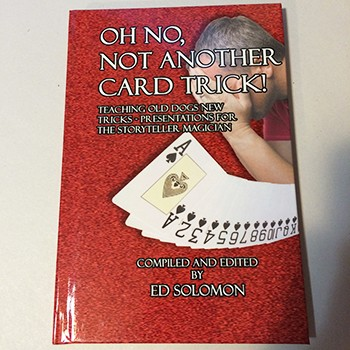 OSR Oh No Not Another Card Trick (Solomon) - USED BOOK