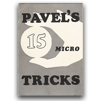 SOLD Pavel's 15 Micro Tricks (Pavel) - USED BOOK