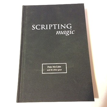 SOLD Scripting Magic (McCabe) - USED BOOK