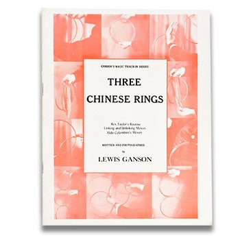 BOOKLET- Three Chinese Rings