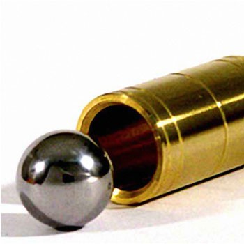 Ball and Brass Tube