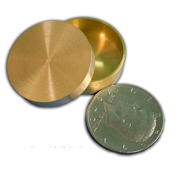 Brass Okito Coin Box + Routines + ONLINE VIDEO