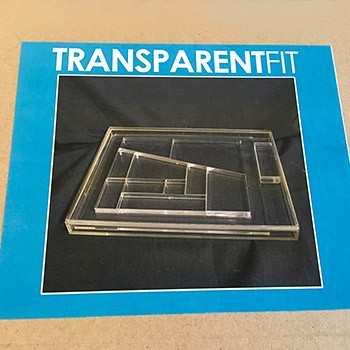 SOLD Transparent Building Block Miracle PREOWNED