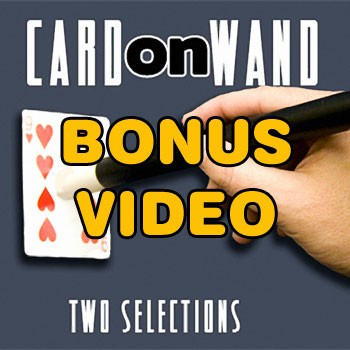 PASSWORD: Card On Wand Bonus Video