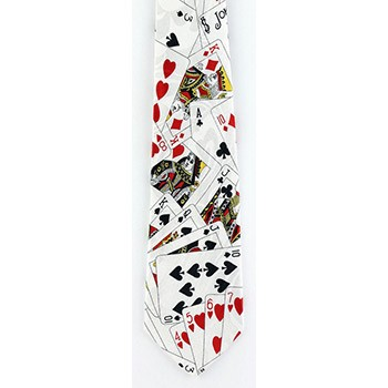 Playing Cards Necktie