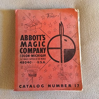 SOLD CATALOG - Abbott's Magic No. 17