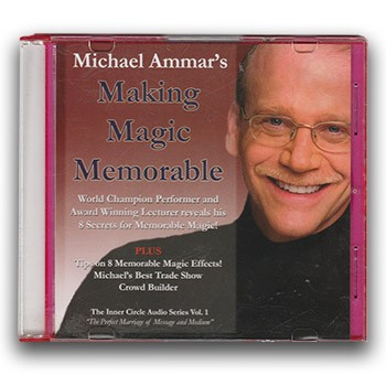 SOLD CD - Michael Ammar: Making Magic Memorable *PREOWNED*