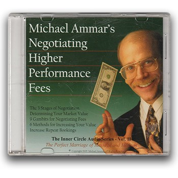 CD - Michael Ammar: Negotiating Higher Performance Fees (PREOWNED)