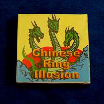 86 DISCONTINUED Chinese Ring Illusion