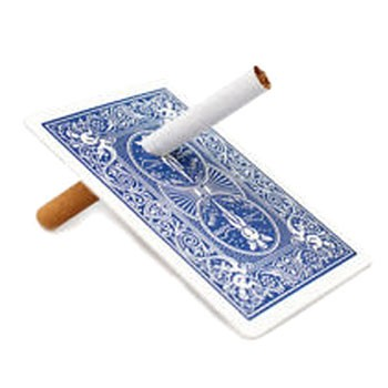 DISCONTINUED Cigarette Thru Card