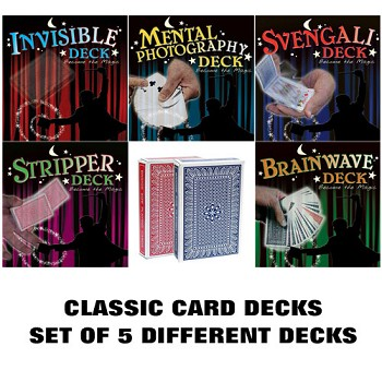 Classic Card Decks Set