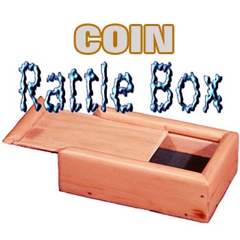 Coin Rattle Box