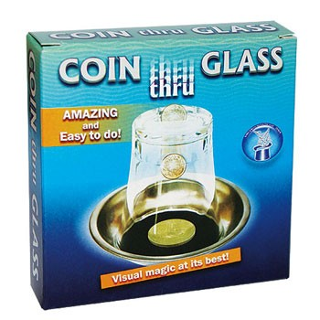 Coin Thru Glass Tray + ONLINE VIDEO