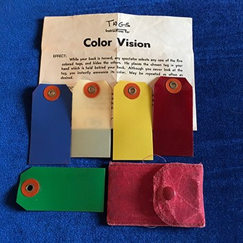 SOLD Color Vision Tags *PREOWNED*