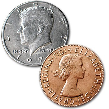 Copper Silver Coin + ONLINE VIDEO