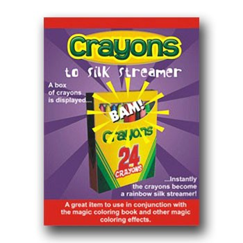 86 DISCONTINUED Crayons To Silk Streamer