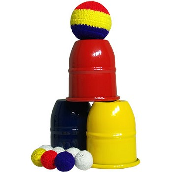 Color Cups and Balls Set