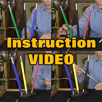 ONLINE VIDEO: Deluxe Color Changing Wands