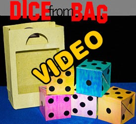 ONLINE VIDEO: Dice From Bag