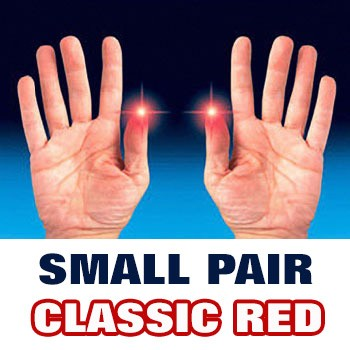 D'Lite - Light from Fingertips SMALL PAIR Classic Red