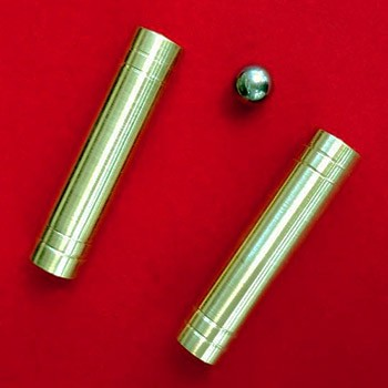 Double Brass Tube and Ball