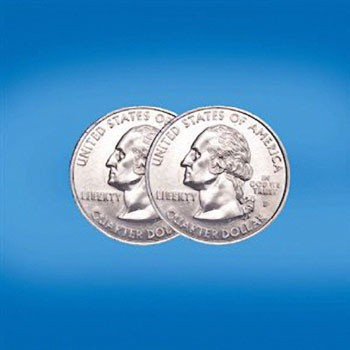 Double Sided Quarter