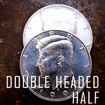 Double Sided Half Dollar - HEADS