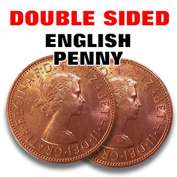 Double Sided English Penny - HEADS