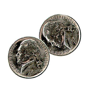 DISCONTINUED Double Headed Nickel