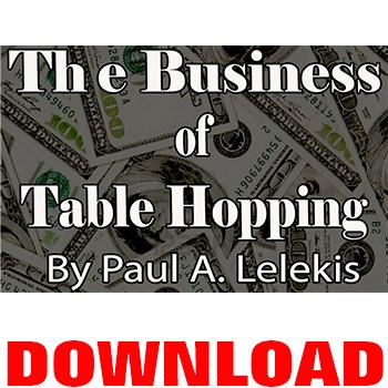 SOLD DOWNLOAD- The Business of Table Hopping eBook