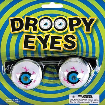 Droopy Eyes Googly Glasses